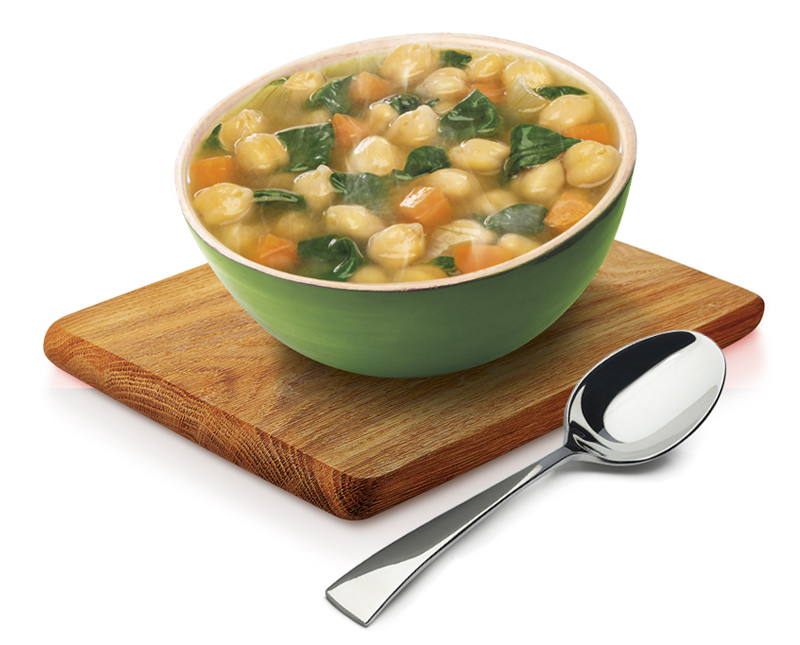 Chickpeas & Vegetables Pot Soup