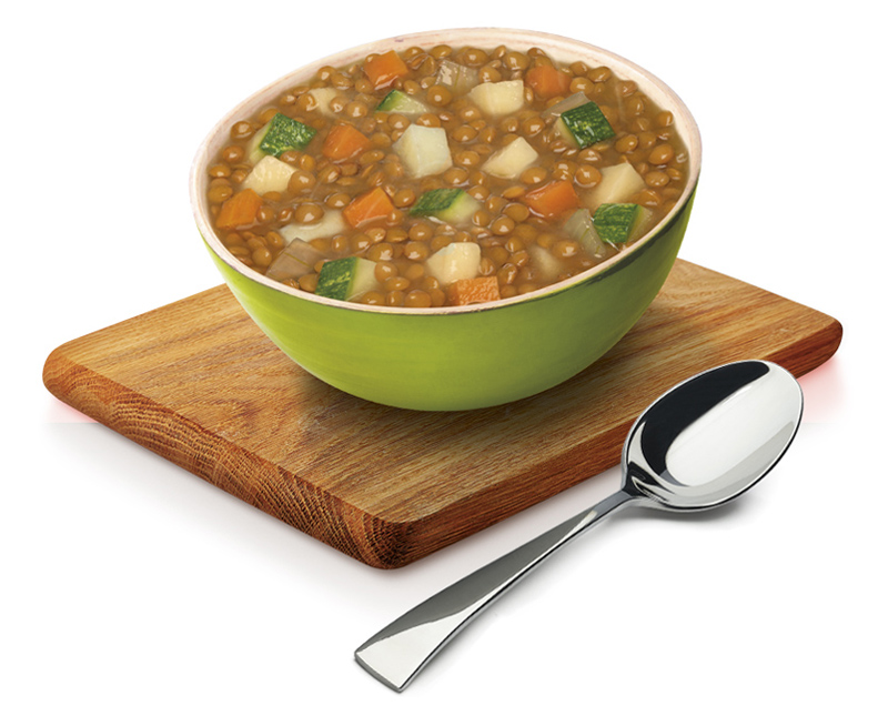 Lentils & Vegetables Pot Soup