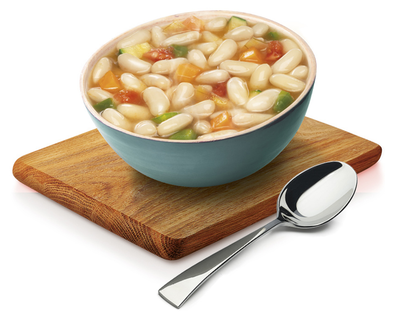 Cannellini Beans & Vegetables Pot Soup