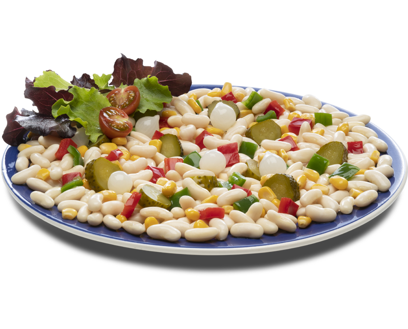Salade d'haricots blancs